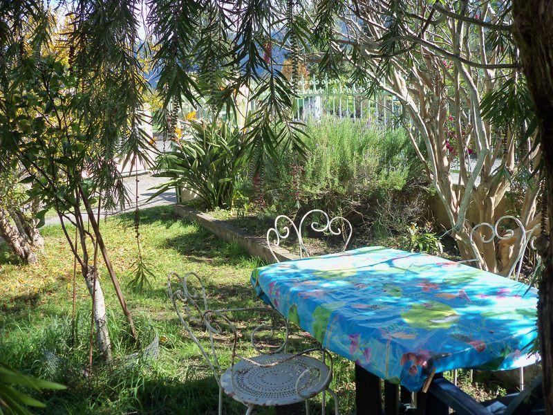 Jardin espace détente